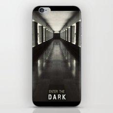 Enter the dark iPhone & iPod Skin