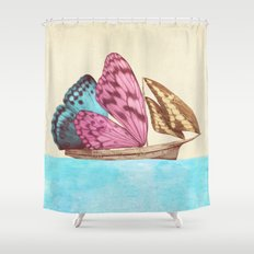 The Voyage (option) Shower Curtain