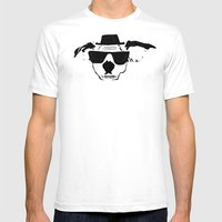 THE BUDDIE x HEISENBERG Mens Fitted Tee White SMALL