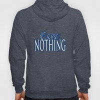 Rue Nothing Blue Logo Hoody