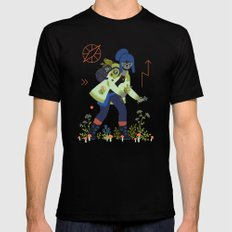 Witch Series: Plants and Herbs Mens Fitted Tee Black SMALL
