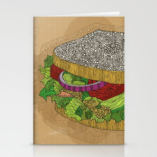 Sanduchito Stationery Card