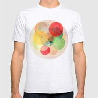 The Round Ones Mens Fitted Tee Ash Grey SMALL
