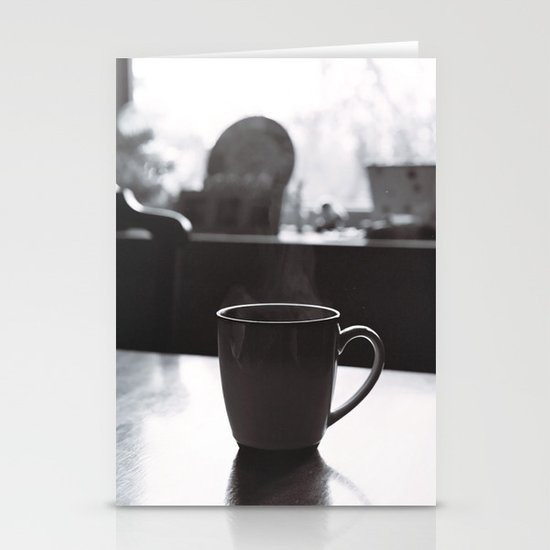 Wake Up and Smell the Coffee Stationery Card