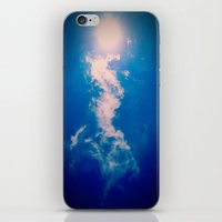 When the sun meets the cloud iPhone & iPod Skin