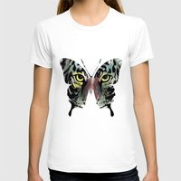 butterfly T-shirts featuring butterfly  by mark ashkenazi