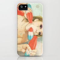 iPhone 5s & iPhone 5 Cases featuring Bombs Away by keith p. rein