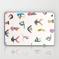 yoga lovers Laptop & iPad Skin