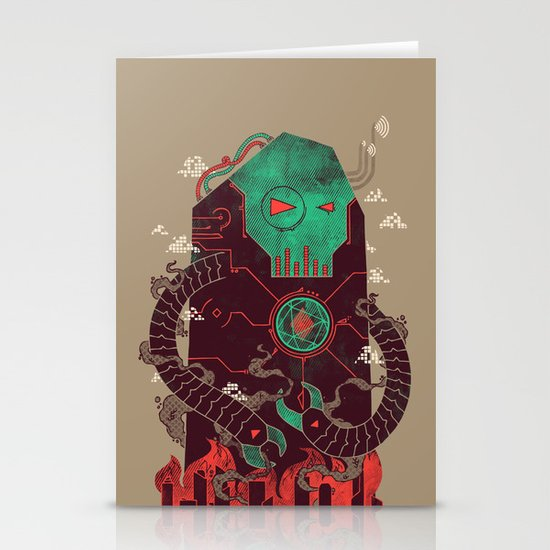 Operate, Annihilate Stationery Card