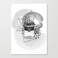 Creative Soup Canvas Print