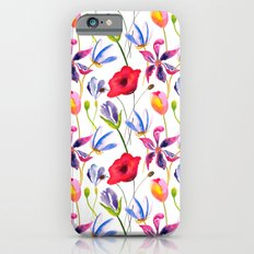 Floral Pattern Slim Case iPhone 6s