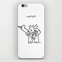 slapfight iPhone & iPod Skin