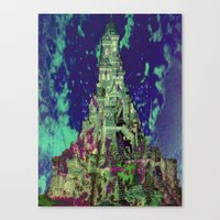 The Castle of Ghosts Canvas Print