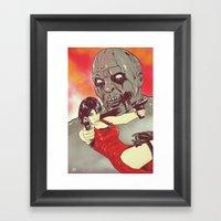 Evil Resident Framed Art Print