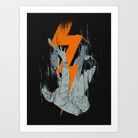 Fall Effect Art Print