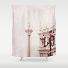MAGICAL VENICE | Palazzo Bianco Shower Curtain