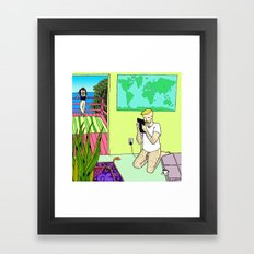 Travel Plans Framed Art Print