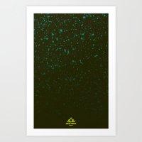 Trail Status / Green Art Print