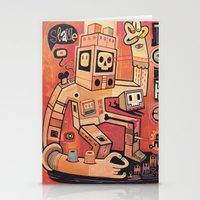 Esclaves Des Robots... N… Stationery Cards