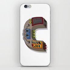 MACHINE LETTERS - C iPhone & iPod Skin
