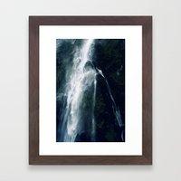 Bowen Falls (3) Framed Art Print