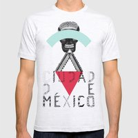 Locals Only - Ciudad De … Mens Fitted Tee Ash Grey SMALL