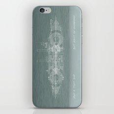 Run a Tight Ship iPhone & iPod Skin