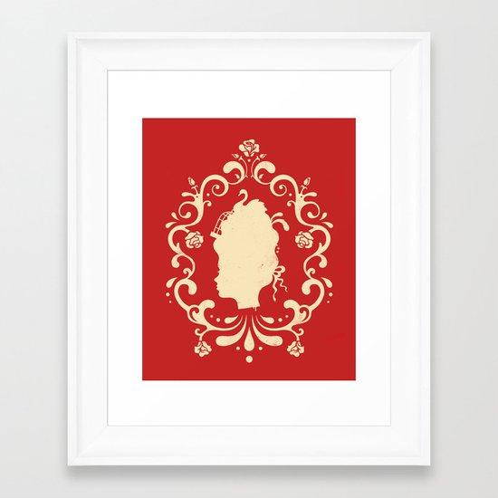 Marie Antoinette Framed Art Print