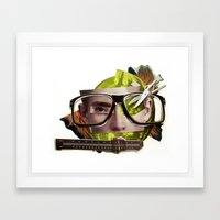 Make Me Perfect | Collag… Framed Art Print