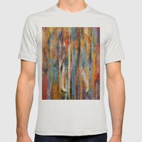 Elephant Mens Fitted Tee Silver SMALL