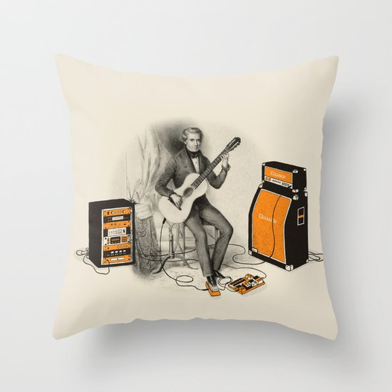 Unimaginable Symphonies Throw Pillow
