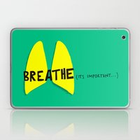 Breathe. A PSA For Stres… Laptop & iPad Skin