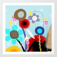 Sweet Karma Love reflects love Art Print