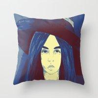 Woman 1 Throw Pillow