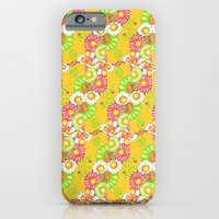 Golden Fields of Daisies iPhone 6 Slim Case