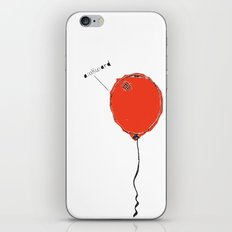 Awkward Balloon iPhone & iPod Skin