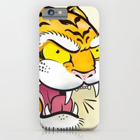 iPhone & iPod Case featuring Tiger Tattoo Flash by C Barrett