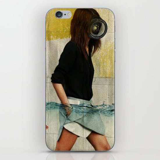 Deep Water Running iPhone & iPod Skin