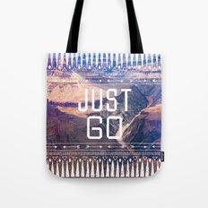 JUST GO Tote Bag