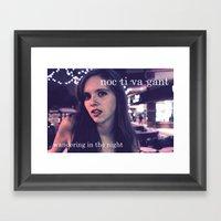 Noctivagant.  Framed Art Print