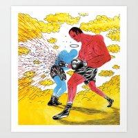 Boxers Art Print