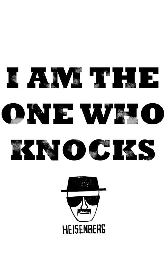 Heisenberg - The One Who Knocks Canvas Print