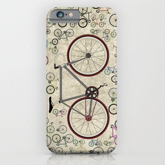 Love Fixie Road Bike iPhone & iPod Case