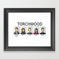 TORCHWOOD Framed Art Print