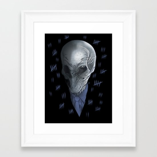 Silent 93 Framed Art Print