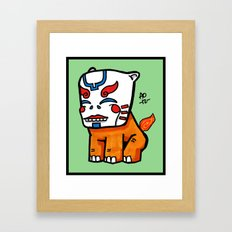 keeper of the flame Framed Art Print