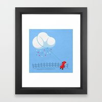 Take The Weather With You Framed Art Print