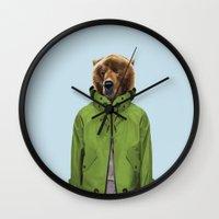 Monsieur Des Abeilles Wall Clock