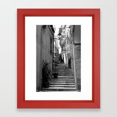Step Right Up Framed Art Print