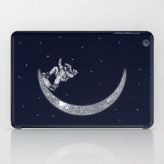 Skate in space iPad Case